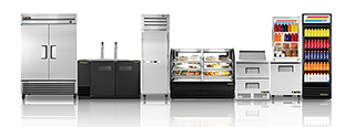 True Foodservice product lineup