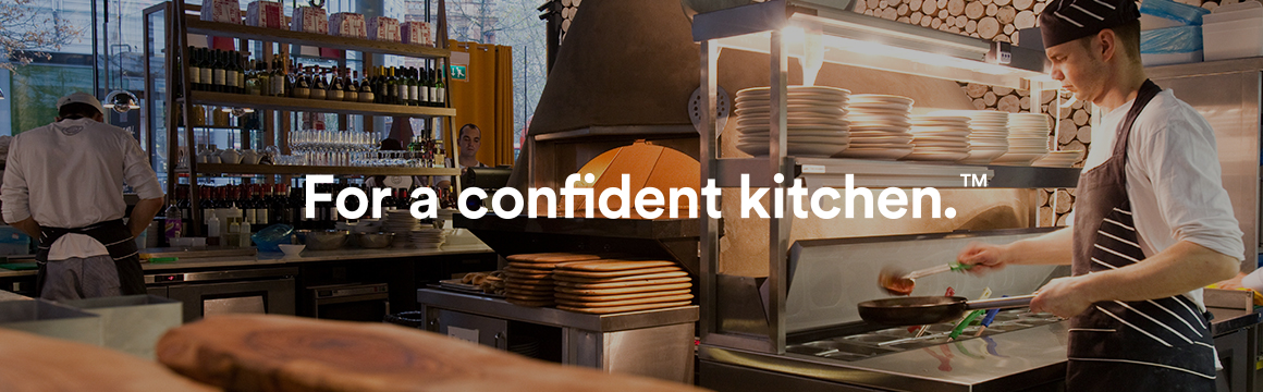 True commercial kitchen
